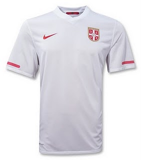 serbia world cup shirt1 World Cup Shirts: Official Merchandise