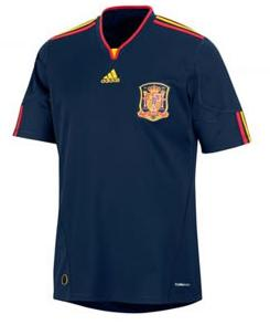 spain away World Cup Shirts: Official Merchandise