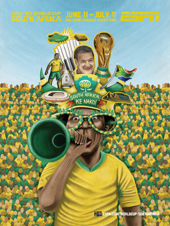 South Africa ESPN's 2010 FIFA World Cup Murals