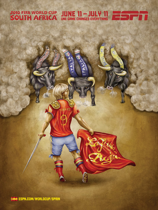 Spain ESPN's 2010 FIFA World Cup Murals
