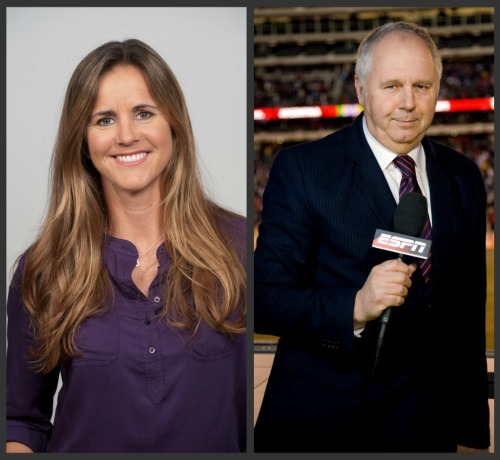 brandi chastain ian darke 8 Ways ESPN Excels in its Coverage of the Women&#039;s World Cup