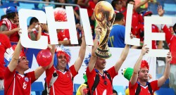 Chile v Australia: Group B - 2014 FIFA World Cup Brazil