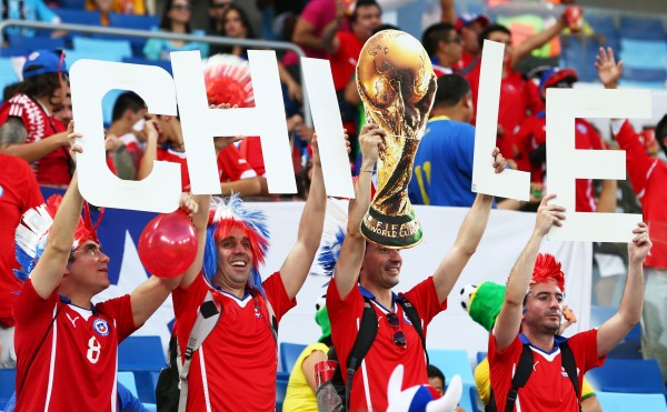 chile 600x371 Chiles 2014 World Cup Performances Are Unforgettable