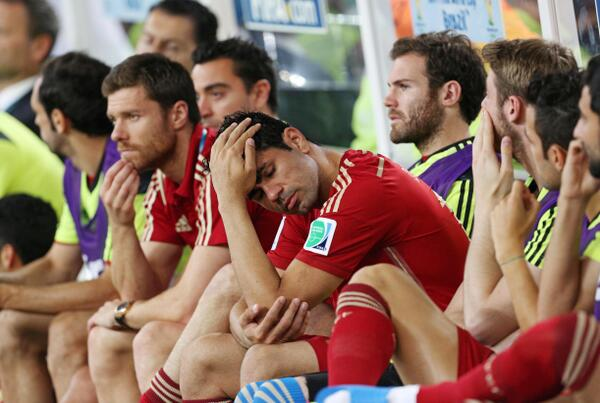 spain Spain Are Swept Away In End Of An Era Performance